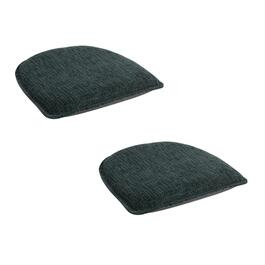 Solid Non-Slip Gripper Chair Pads, Set of 2