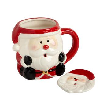 Buddy Santa Mug and Spoon Plate Set, 2-Piece
