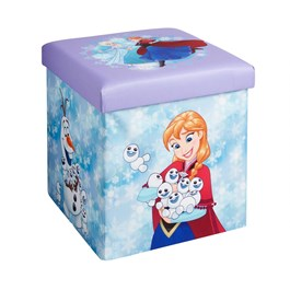 Disney® Frozen Elsa and Anna Folding Ottoman