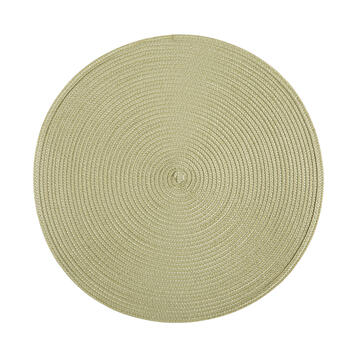 Casual Round Textured Placemats, Set of 4 view 1