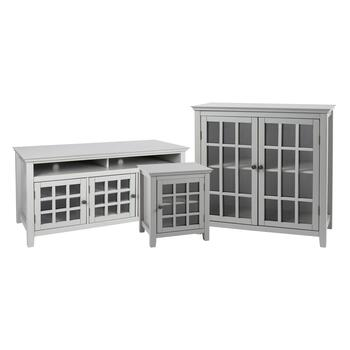 Leslie Gray Cabinet Collection