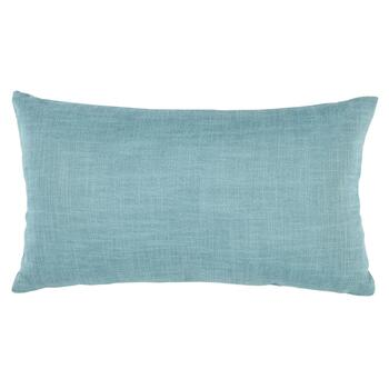 Button Feather-Fill Oblong Throw Pillow view 2