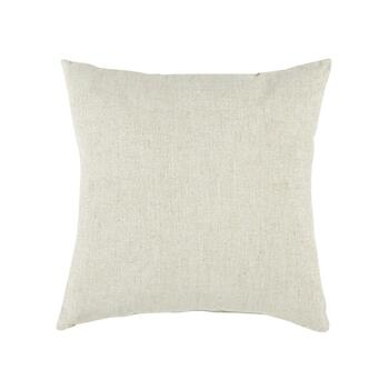 """Joy"" Holly Square Throw Pillow view 2"