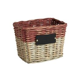 The Grainhouse™ 2-Tone Chalkboard Rectangular Woven Willow Basket