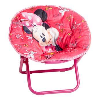 Disney Reg Minnie Mouse Kids Saucer Chair