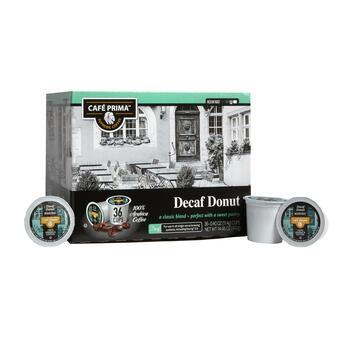 Café Prima™ Decaf Donut Shop Coffee Pods, 36-Count