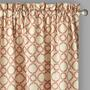 "Traditions by Waverly® 84"" Clay Geo Window Curtains, Set of 2"