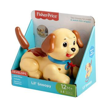 Fisher Price® Lil' Snoopy Pull Toy