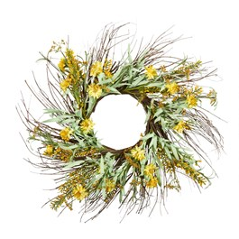 "The Grainhouse™ 24"" Artificial Wildflower Wreath"