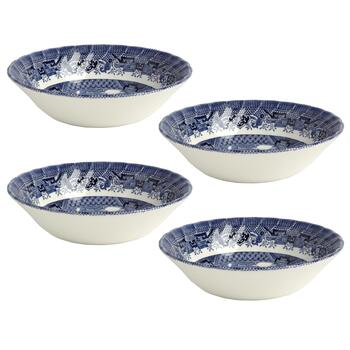 Blue Willow Imperial Cereal Bowls, Set of 4 view 2