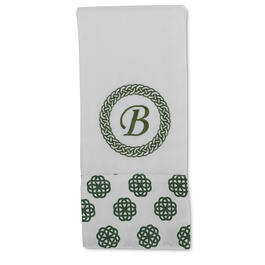 St. Patrick's Day Monogram Kitchen Towel view 1