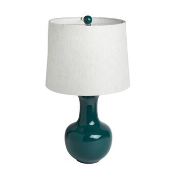 "29"" Ceramic Jar Table Lamp"