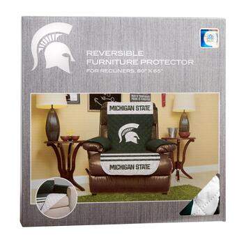 NCAA Michigan State Spartans Reversible Recliner Cover