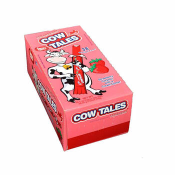 Strawberry Sour Cow Tale® Candy view 1