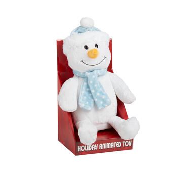 Plush Musical Snowman Doll view 1