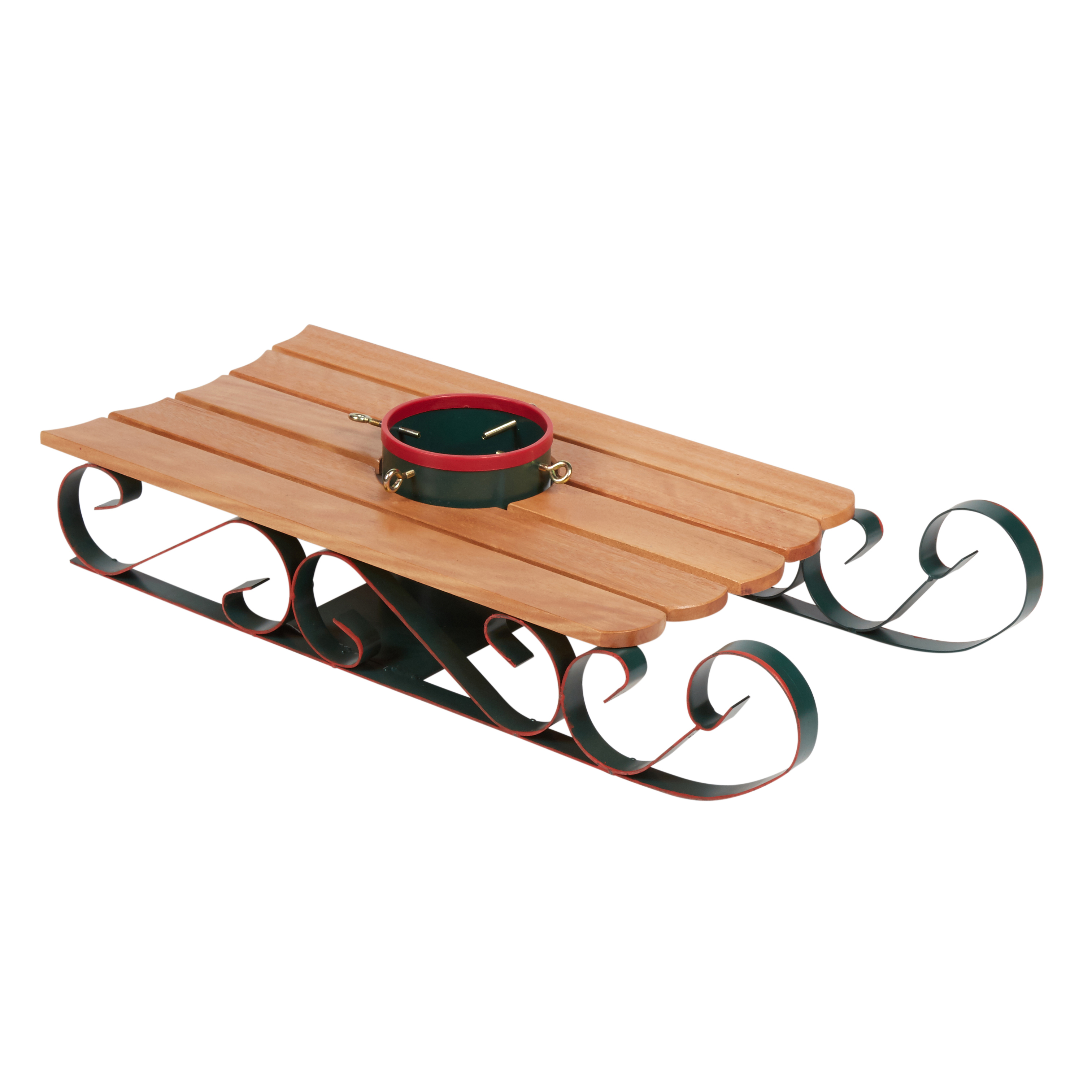 Wood Sled Christmas Tree Stand Christmas Tree Shops And That Home Decor Furniture Gifts Store