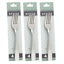 4-Pack Emerson Salad Forks, Set of 3