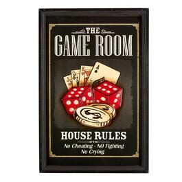 "16""x24"" ""The Game Room"" Wall Sign"