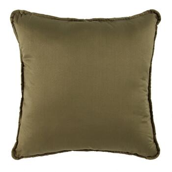 Moose Lodge Embroidered Square Throw Pillow view 2