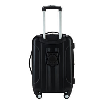 Black Hard Shell Luggage Set, 3-Piece view 2