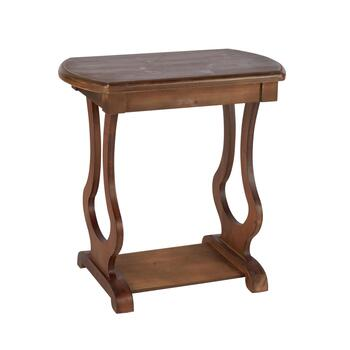 "The Grainhouse™ 24"" Curved Leg Accent Table"