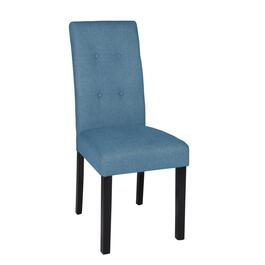 Velvet-Style Tufted Parsons Chair