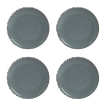 "Mason Cash® 8"" Solid Colored Salad Plates, Set of 4"