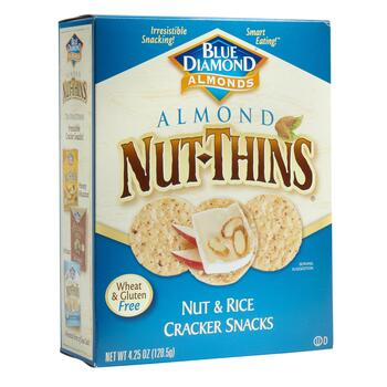 Blue Diamond® Almond Nut-Thins® Crackers, 12 Boxes