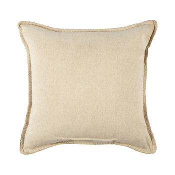 Woodland Songbird Embellished Square Throw Pillow view 2