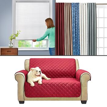 Cordless Shades, Curtains & Furniture Protectors
