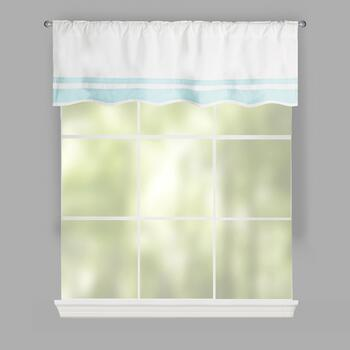 Maddie Striped Window Valances, Set of 2
