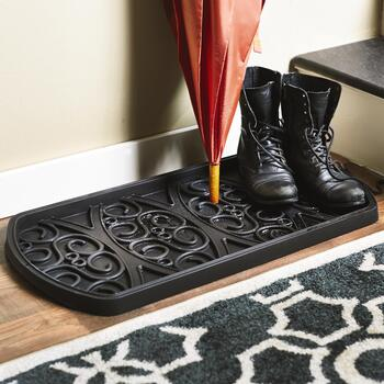 Decorative Boot Tray view 2