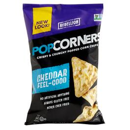 Pop Corners® White Cheddar Corn Chips, 12 Bags