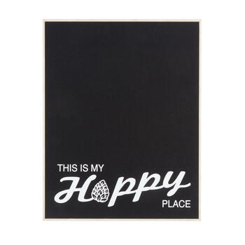 "18""x24"" ""This Is My Hoppy Place"" Chalk Wall Decor view 1"