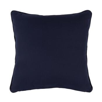 The Grainhouse™ Blue/Ivory Plaid Square Throw Pillow view 2