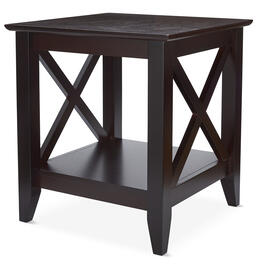 Cherry Milan Accent Table view 1