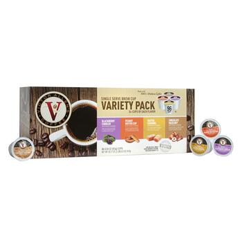 Victor Allen's® Single Serve Flavored Variety Pack Coffee Pods, 96-Count