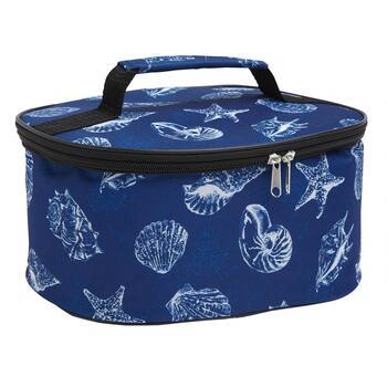 Summer Seashells Insulated Round Casserole Carrier