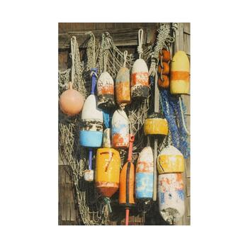 "24""x36"" Buoys Photograph Canvas Wall Art"