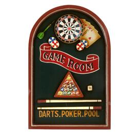"24""x16"" Game Room Wall Sign"