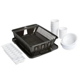 Dish Drainer Sink Set, 14-Piece