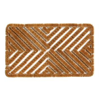 Coir X-Shaped Boot Scraper Door Mat