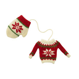 Christmas Country Knit Hat Tree Ornament view 1