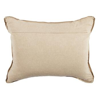 Gold Bead Geo Embellished Oblong Throw Pillow view 2