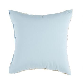 "Coastal Living Seascapes™ 18"" Powder Blue Rope Indoor/Outdoor Throw Pillow view 2"