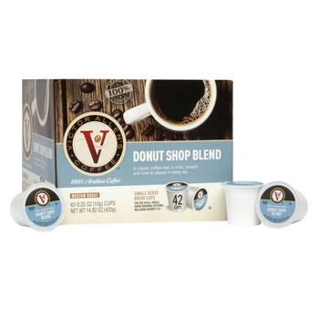 Victor Allen's® Donut Shop Coffee Pods, 42-Count
