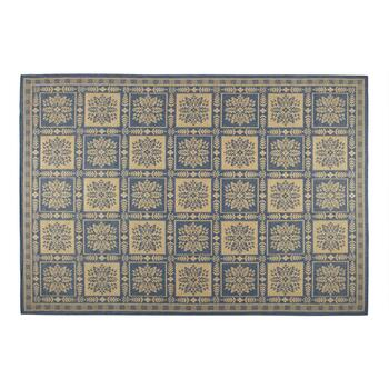 "6'5""x9'5"" Floral Patch Woven Indoor/Outdoor Area Rug"