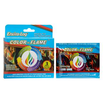 Enviro-Log® Color-Flame™, 6 Packs