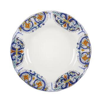 Tuscan Scroll Dinner Plates, Set of 4 view 2
