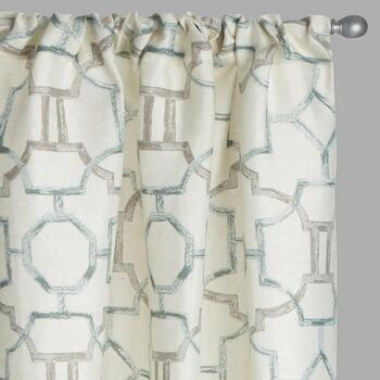 Marlo Geo Window Curtains, Set of 2